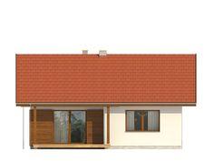 DOM.PL™ - Projekt domu TP GAJA CE - DOM TP1-33 - gotowy koszt budowy Shed, Outdoor Structures, How To Plan, Outdoor Decor, Home Decor, Facades, Decoration Home, Room Decor, Sheds