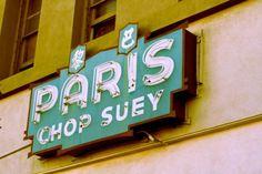 Paris Chop Suey 8x10 Metallic Print Edition by RoadsidePhotographs
