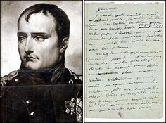 """""""You never write me; you don't love your own husband; you know what pleasures your letters give him, and yet you haven't written him six lines, dashed of so casually!""""- Napoleon to Josephine"""