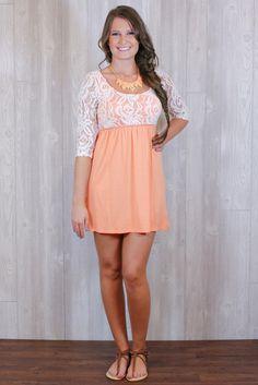Life's a Peach Dress