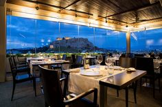 The Athens Gate Hotel rooftop restaurant & bars are located on the floor of the hotel and offer amazing views of the city of Athens. Rooftop Restaurant, Rooftop Bar, Greece Cruise, Lobby Bar, Breakfast Buffet, Top Restaurants, Travel Alone, Fresh Vegetables, Nice View