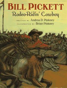 Bill Pickett: Rodeo-Ridin' Cowboy von Andrea Davis Pinkney, http://www.amazon.de/dp/015200100X/ref=cm_sw_r_pi_dp_RdR-rb1J86TB8