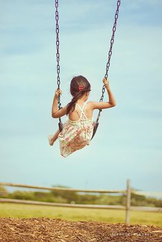 A swing is a beautiful thing. Inspired by Val of http://www.theredballoonphotography.com/blog/
