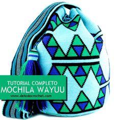 Aprende a tejer tu propia mochila wayuu tapestry con ganchillo - Wayuu tapestry backpack crochet Crochet Backpack, Crochet Clutch, Crochet Purses, Wiggly Crochet, Crochet Diy, Mochila Tutorial, Mochila Crochet, Tapestry Crochet Patterns, Tapestry Bag