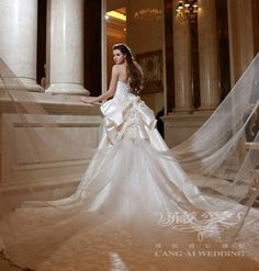 Cang-Ai Wedding Photography >> 2014 Haute Couture Wedding Dress- picture 12 >> www.cangai.tw