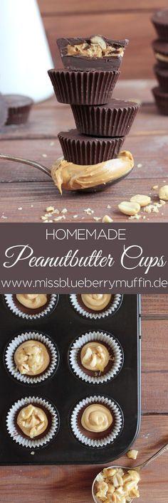 Peanutbutter Cups mit karamellisierten Erdnüssen selber machen // Homemade Peanutbutter Cups with caramelized peanuts
