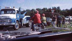 Falken redningsbil 1970-tallet. På oppdrag.
