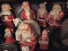 love the old santa's