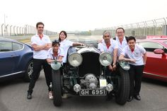 Digital Jungle Team & Bentley China Team with a 1930 Bentley Blower in Ordos, Inner Mongolia for the Bentley Driving event