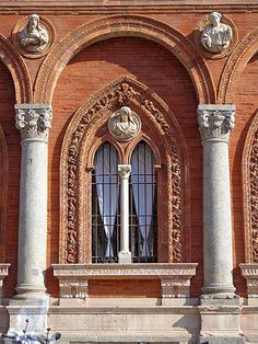Milano Università Statale, province of Milan Lombardy Fantasy Castle, Visit Italy, Northern Italy, Milan Italy, Lake Como, Beautiful Buildings, Best Cities, Sicily, Architecture Details
