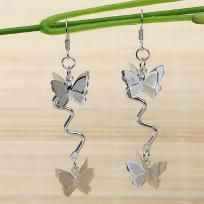 New Fashion Nickel Free Wave Butterfly Dangle Charms Earrings 1Pair free shipping  NO SLICE FEE - MOST FREE SHIPPING - LOW PRICE!!- CLICK TO SHOP !!  https://yardsellr.com/yardsale/Sweetu-Sunshine-742131?pap=742131