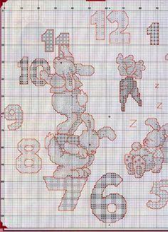 Orologio Conigli 1b