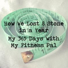 How we lost 8 stone in year - My 365 days My Fitness Pal | The Last Krystallos #losingweight #weightloss #myfitnesspal #health #healthandfitness