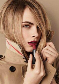 Cara Delevingne ♥ for Burberry Lip Velvet