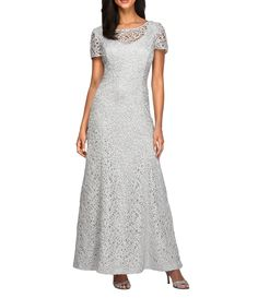 4228c749641 Shop for Alex Evenings Embroidered A-Line Gown at Dillards.com. Visit  Dillards