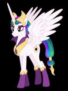 princess celestia evil form - Google Search