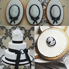Unique Vintage Wedding Cakes | Vintage style cake with unique cameos | Beautiful Wedding Cakes | Pin ...