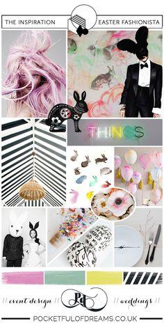 Bridal Inspiration Boards #72 ~ Easter Fashionista | Love My Dress® UK Wedding Blog