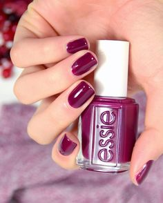 Anytime is the right time for warm deep plum polish. Creamy and rich this tropical beauty works winter, spring, summer or fall – Gorgeous is always in fashion. (Shop the shade: http://www.essie.com/Colors/plums/bahama-mama.aspx)