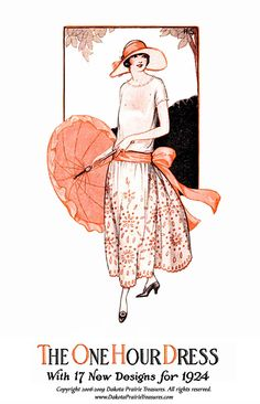 1920s Make a FLAPPER DRESS in 1 Hour 1924 by schmetterlingtag, $14.99