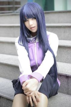 Hinata Hyuga Cosplay from Naruto Shippuden by Adam Bolero on WorldCosplay.net