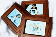 DAD pictures: This interactive gift is fun to do with the kids and captures each child's personality.