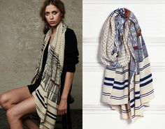 striped scarf goodness
