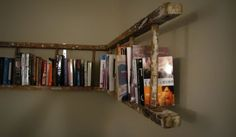 Creative Ways to Repurpose & Reuse Old Stuff, love this ladder and would do this for dvds