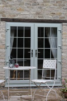 Double French Flood Doors fully glazed with Georgian bar. This classic style adds a sophisticated & Bespoke Door Frames \u0026 Doors at The Joinery Workshop North Norfolk ...