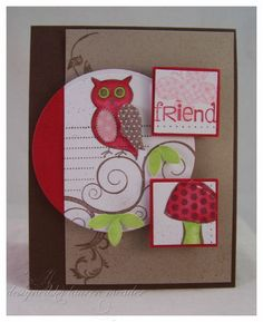 owl friendship #card