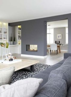colores grises lucen muy bien si los sabes equilibrar con tus accesorios y muebles