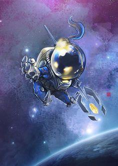 Space Veigar by Racoonwolf