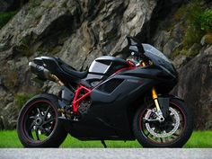 Ducati 1198.  Just awesome in black.  The 'S' model upgraded the suspension and gave it a few extra horsepower.