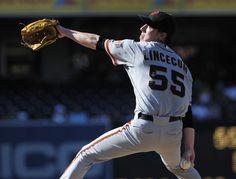 Tim Lincecum - San Francisco Giants v San Diego Padres