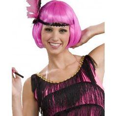 Flapper Hot Pink Wig | 1920S