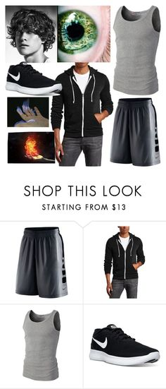 """""""Jack - Normal"""" by aresgirl01 ❤ liked on Polyvore featuring NIKE, men's fashion and menswear"""