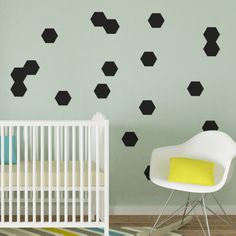 Hexagon Magnetic Decals #magnormous #kidsbedroomideas Kids Bedroom, Silhouettes, Decals, Home Decor, Tags, Decoration Home, Room Decor, Sticker, Silhouette