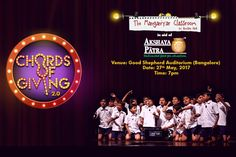 In aid of Akshaya Patra, in the second edition of chords of giving, the Manganiyar Classroom is giving you the musical fiesta on the eve of May 27, 2017 at Good Shepherd Auditorium in Bengaluru. Book your tickets!