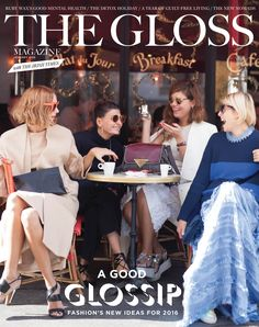 Homepage - The Gloss Magazine January 2016, Guilt Free, Thought Provoking, Entertaining, Culture, Magazine, Shit Happens, Stylish, Fashion