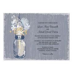 ReviewVintage Mason Jar and Wildflowers Wedding Personalized AnnouncementWe provide you all shopping site and all informations in our go to store link. You will see low prices on