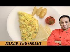 Healthy Mixed Vegetable Omelet - Be Fit Be Cool AAPI VahRehVah - YouTube