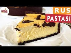 Russian Cake (You'll Love It) With Video - Delicious Recipes - Cheesecake Recipes Russian Cakes, Delicious Desserts, Yummy Food, Yummy Recipes, Best Cheese, Turkish Recipes, Food Humor, Desert Recipes, Cheesecake Recipes