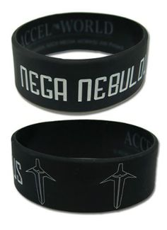 Accel World Wristband: Nega Nebulous PVC