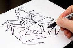 art-for-kids-scorpion