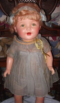 Large All Original Composition Mama Doll w/ Box by MyDollyMarket, $199.90