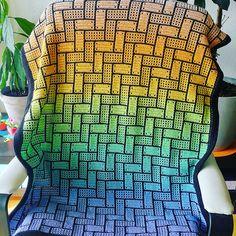 Yarn Projects, Crochet Projects, Crochet Ideas, Crochet Gifts, Knit Crochet, Crochet Afghans, Crotchet Blanket, Crochet Rug Patterns, Afghan Blanket