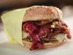 """Guido Burger - I just watched this on Food Network ."""" I must make"""" NOWWwwwww"""
