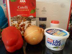 Jeg tester: Lag din egen fra Mills; Oppskrift på pastasalat (pialk)
