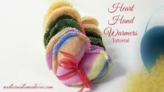 Heart Hand Warmers. These are perfect to put in your pockets to keep your hands warm!! sewlicioushomedecor.com