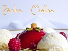 Pfirsich Melba - Eis-Klassiker
